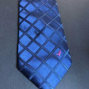 Susan G Komen Accessories - Susan G Komen knots for the Cure Blue Men's Tie